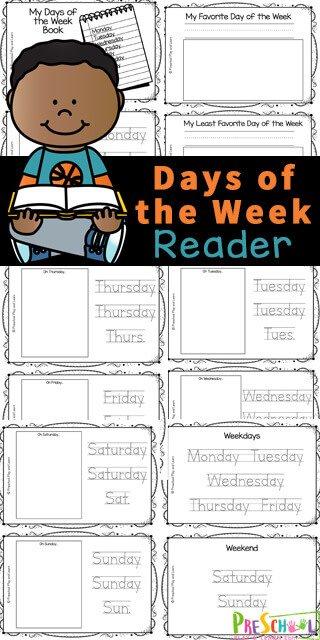 Days of the Week Activity. #freehomeschooldeals #fhdhomeschoolers #learningthedaysoftheweek #daysoftheweekworksheets #daysoftheweekactivity