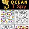Marine Animal I-Spy Activity. #freehomeschooldeals #fhdhomeschoolers #oceananimalsispy #ispyworksheets #studyingoceananimals