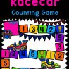Preschool Racecar Number Game. #freehomeschooldeals #fhdhomeschoolers #learningtocount #preschoolnumbergame #racecargameforkids