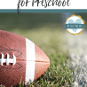 Preschool Football Counting Book. #freehomeschooldeals #fhdhomeschoolers #preschoolfootballactivitypages #footballcountingbook #learningtocount