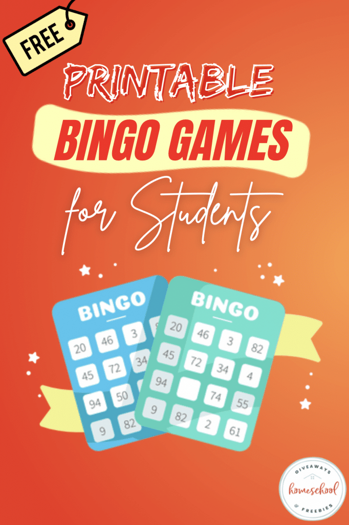 Free Bingo Learning Games. #freehomeschooldeals #fhdhomeschoolers #freebingogamesforkids #kidsbingo #freefamilygames