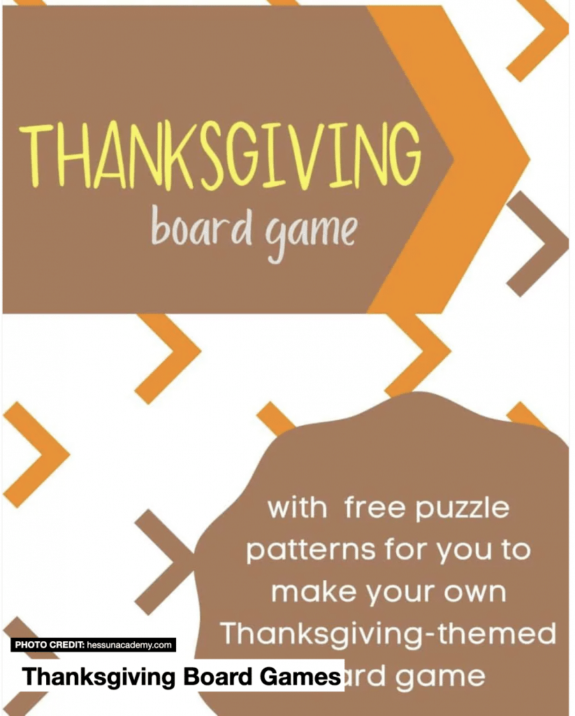 Free Thanksgiving Family Games. #freehomeschooldeals #fhdhomeschoolers #holidaygamesforkids #thanksgivinggames #freefamilygames