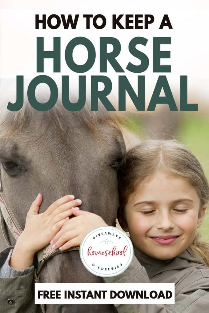 Do you have horse lovers in your home? This horse journal for kids is a fun learning resource for taking care of horses.