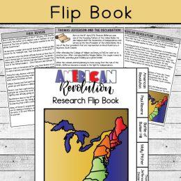 American Revolution Flip Book Activity. #freehomeschooldeals #fhdhomeschoolers #studyingtheamericanrevolution #americanrevolutionforkids #americanrevolutionactivity