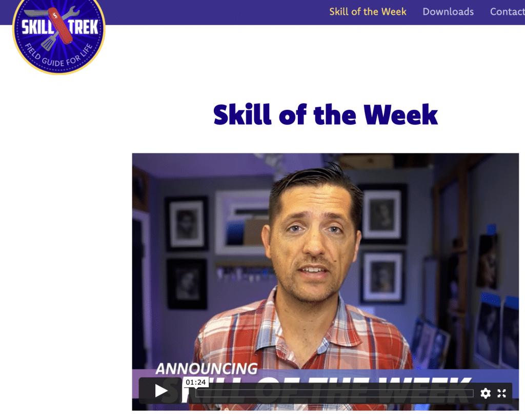 Free Skill Of The Week Every Monday! #freehomeschooldeals #fhdhomeschoolers #skilspractice #skilstraining #skillsforkids