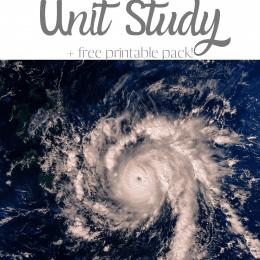 Free Hurricane Learning Activity. #freehomeschooldeals #fhdhomeschoolers #learningabouthurricanes #hurricaneunitstudy #hurricanelearningactivity